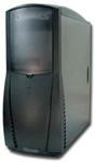 Black Medium Tower Computer Case FK 320