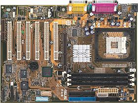 asus p4b motherboard socket 478 supports pc-133 sdram