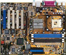 ASUS P4G8X Deluxe Motherboard with on-board firewire, usb 2.0 and raid
