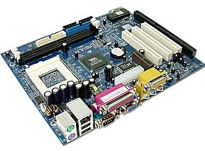 Biostar M6VLr Socket 370 Motherboard with 1 ISA slot, integrated piii motherboard