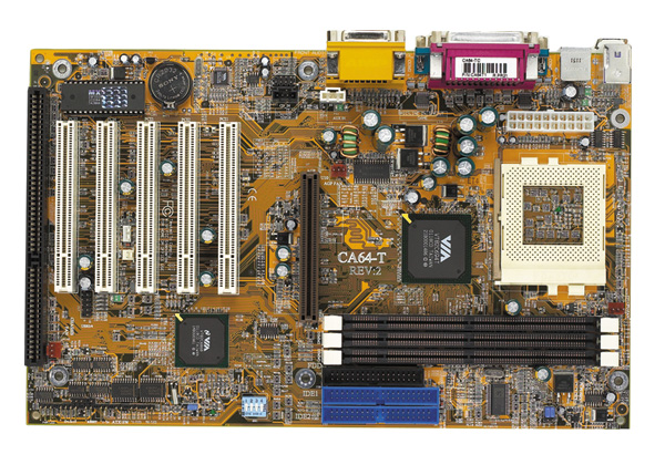 dfi ca64-tc motherboard, socket 370 motherboard with 1 isa slot