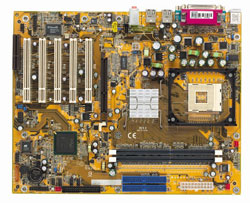 DFI NB73-ES Socket 478 Motherboard