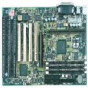Supermicro P6SBA slot 1 Motherboard with 3 isa slots