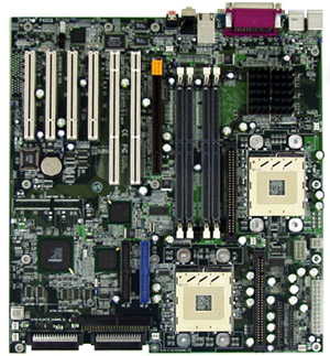 the supermicro p4dc6 motherboard Supermicro p4dc6+ extended atx motherboard with intel 860 chipset  supermicro extended atx - intel 860 - xeon - rdram - 2 gb ram support  p4dc6.