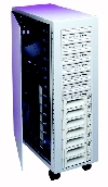 Bex-HD-14S68 14 Bay SCSI Tower Front