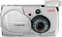 olympus camedia d520 zoom digital camera