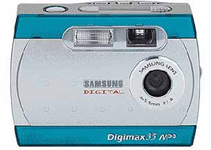 Samsung Digimax 35 Digital Camera & MP3 Player