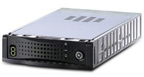 mobile dock for SCSI hard drives, removable frame and tray, drive module, data carrier