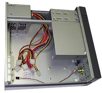 mpe-dk1 flex atx desktop case - black desktop case