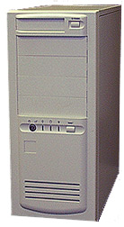 Medium Tower AT Computer Case MPE-MD33