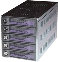 SCSI 5-in-1 SCA Mobile Rack