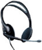 Labtec Axis-502 Deluxe Stereo Headset / Boom Microphone