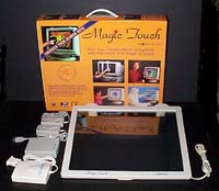 Touchscreen Add-on Kits, touch screen monitors, wide screen,