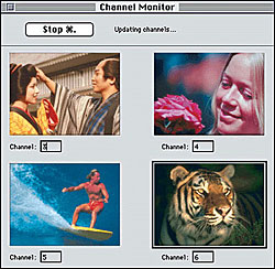 XClaim TV USB tuner channel monitor
