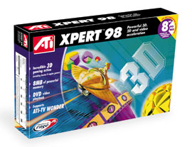 ATI Xpert 98 8MB AGP Video Card