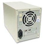 2 bay dual bay external case for scsi drives, 2 bay firewire enclosure