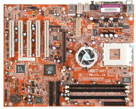 abit NF7-M motherboard, abit socket a motherboards, motherboards based on NVIDIA nForce2 IGP chipset