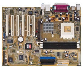 Asus A7V333-X/L socket A motherboard with audio and LAN VIA KT333 chipset