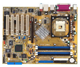 asus P4C800 deluxe motherboard - intel Intel 875P MCH chipset, on-board audi, gigabit lan, firewire, usb 2.0