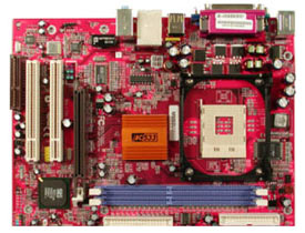 PC Chips M935DLU motherboard, PC Chips Socket 478 motherboards, motherboards based on SiS650GX/962L chipset