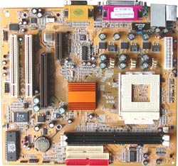 PC Chips M810LMR-XP V 7.1A motherboard, PC Chips Socket 462 motherboards, motherboards based on SiS730S chipset